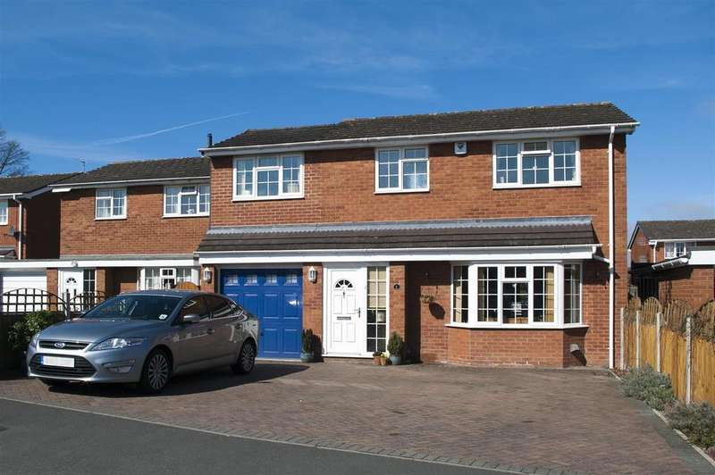 3 Bedrooms Detached House for sale in 6 Burnham Avenue, Shrewsbury, SY2 5LL