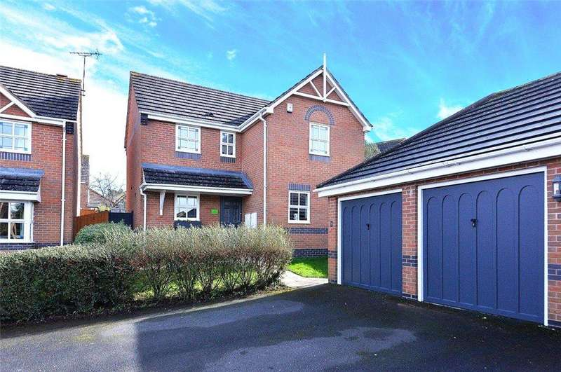 4 Bedrooms Detached House for sale in Rebekah Gardens, Droitwich Spa, Worcestershire, WR9