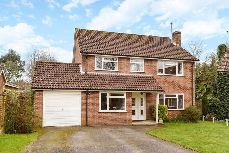 4 Bedrooms Detached House for sale in Dalewood, Basingstoke, RG22