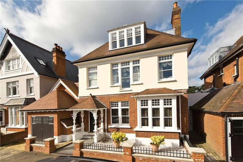 5 Bedrooms Semi Detached House for sale in Broom Water, Richmond, Teddington, TW11