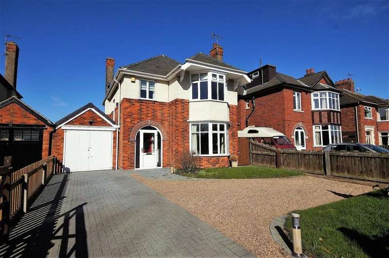 4 Bedrooms Detached House for sale in Yarborough Crescent, Lincoln