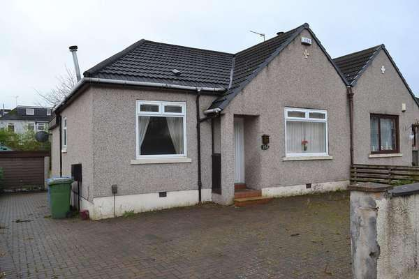 2 Bedrooms Semi Detached Bungalow for sale in 158 Hamilton Road, Rutherglen, Glasgow, G73 3BD