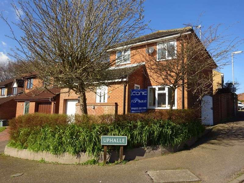 3 Bedrooms Detached House for sale in Uphalle, Taverham, Norwich