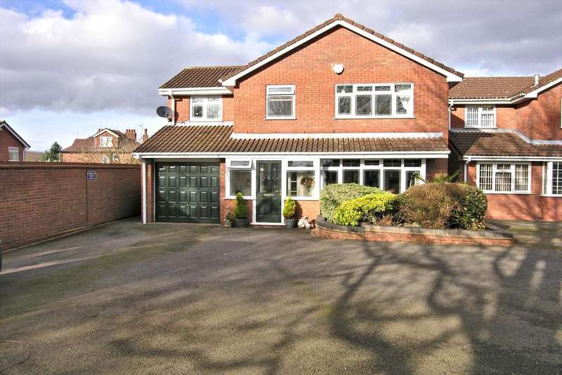 4 Bedrooms Detached House for sale in THORNEYFIELDS LANE, STAFFORD ST17