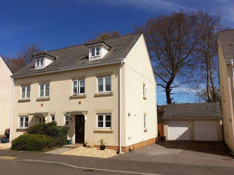 3 Bedrooms Semi Detached House for sale in Parc Starling, Johnstown, Carmarthen, Carmarthenshire.