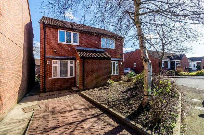 2 Bedrooms Semi Detached House for sale in Gresley Court, Acomb, YORK