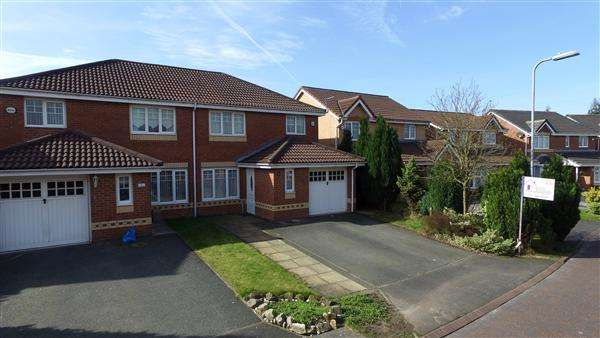 3 Bedrooms Semi Detached House for sale in Turner Grove, Kirkby