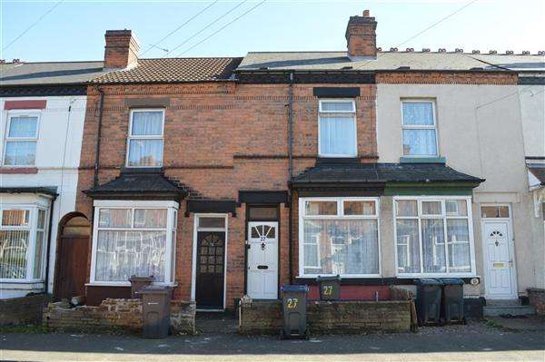 2 Bedrooms Terraced House for sale in Albert Road, Stechford, Birmingham