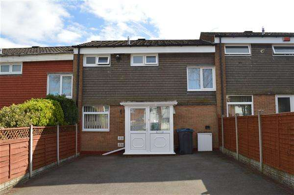 2 Bedrooms Terraced House for sale in Lenton Croft, South Yardley, Birmingham