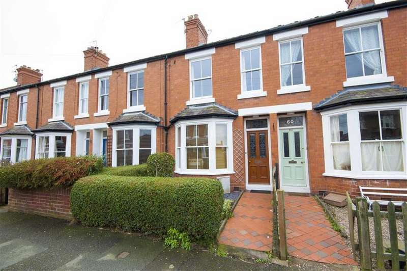 2 Bedrooms Terraced House for sale in King Street, Cherry Orchard, Shrewsbury, Shropshire
