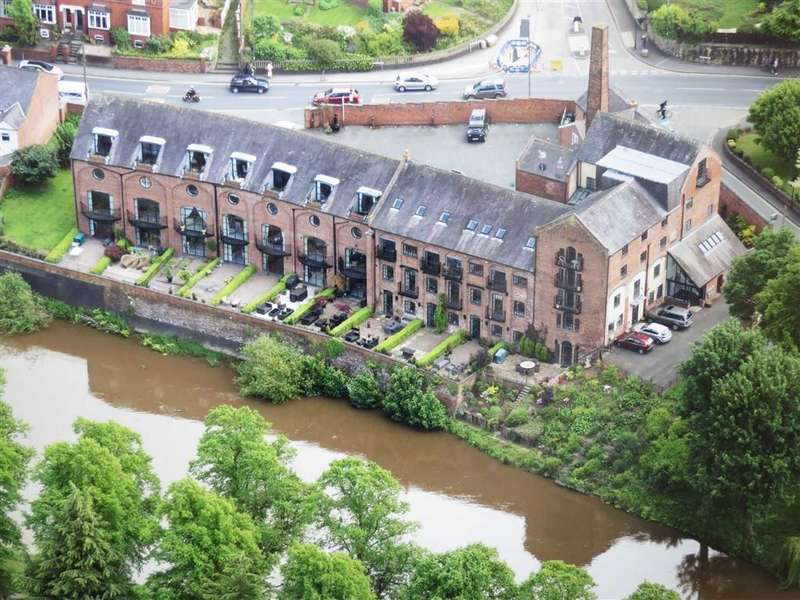 4 Bedrooms Duplex Flat for sale in The Brewery, Longden Coleham, Shrewsbury, Shropshire