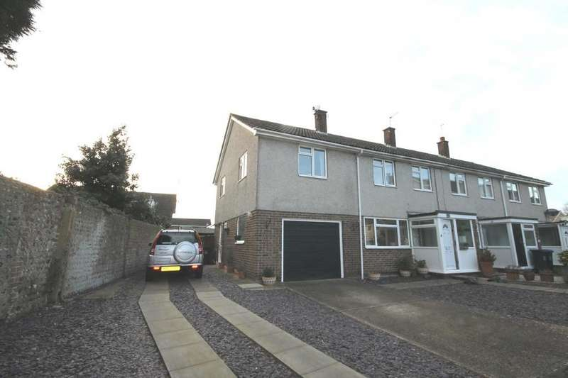 4 Bedrooms End Of Terrace House for sale in Newtimber Gardens, Shoreham-by-Sea