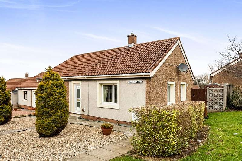 2 Bedrooms Detached Bungalow for sale in Suttieslea Walk, Newtongrange, Dalkeith, EH22