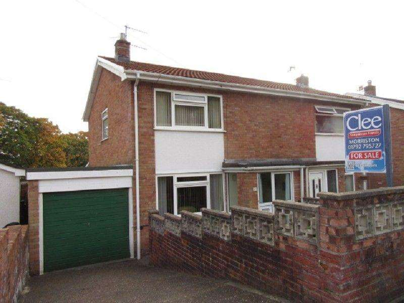 3 Bedrooms Semi Detached House for sale in Hillrise Park, Clydach, Swansea.