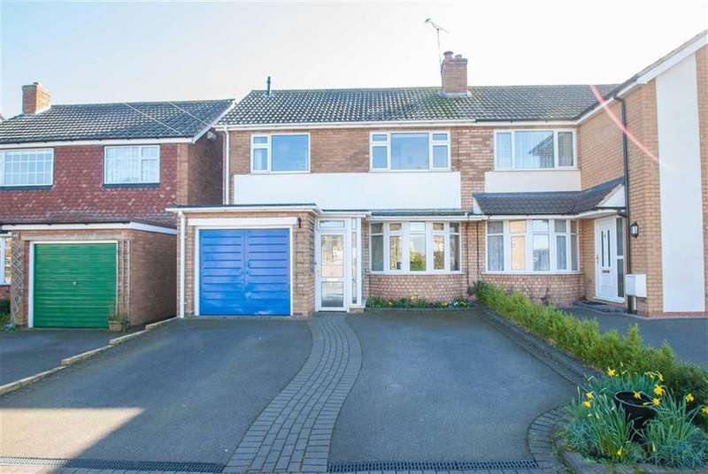3 Bedrooms Semi Detached House for sale in Dyott Avenue, Whittington, Staffordshire