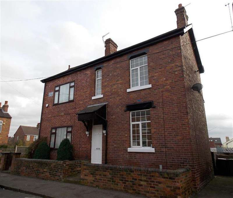 2 Bedrooms Semi Detached House for sale in Ashdown Road, WAKEFIELD, WF1
