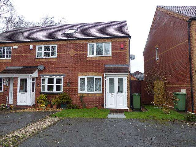 2 Bedrooms End Of Terrace House for sale in Boundary Road,Walsall Wood,Walsall