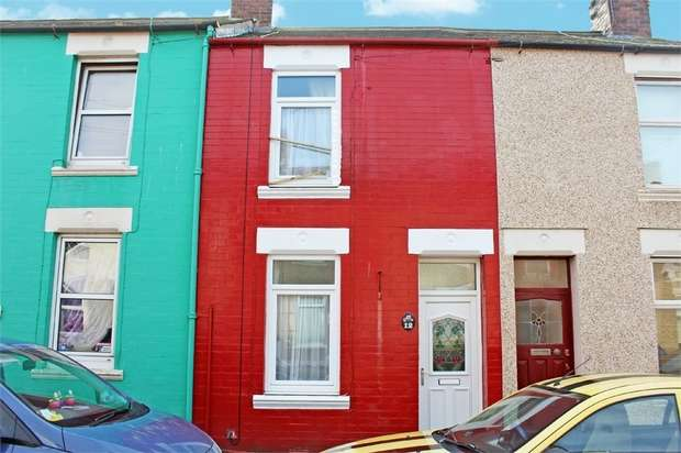 2 Bedrooms Terraced House for sale in Yeowartville, Workington, Cumbria