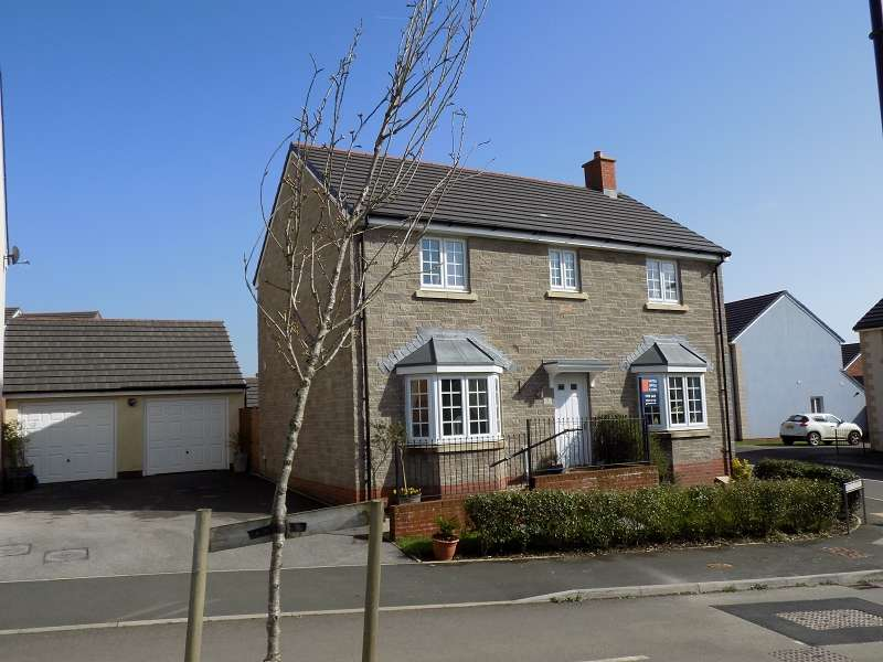 4 Bedrooms Detached House for sale in Maes Yr Eithin, Coity, Bridgend. CF35 6BJ