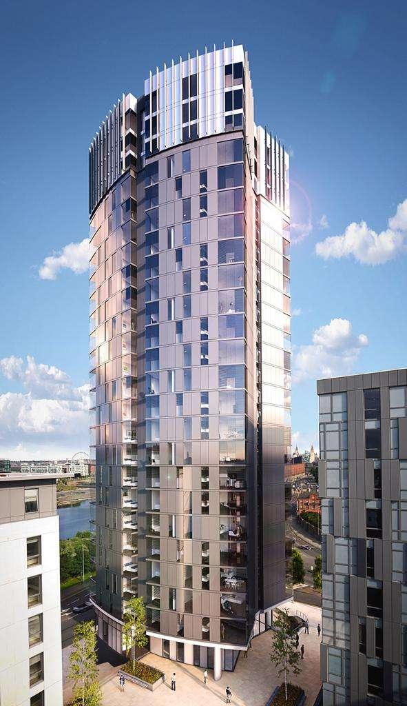 Studio Flat for sale in X1 Tower, X1 Quarter, Liverpool L8