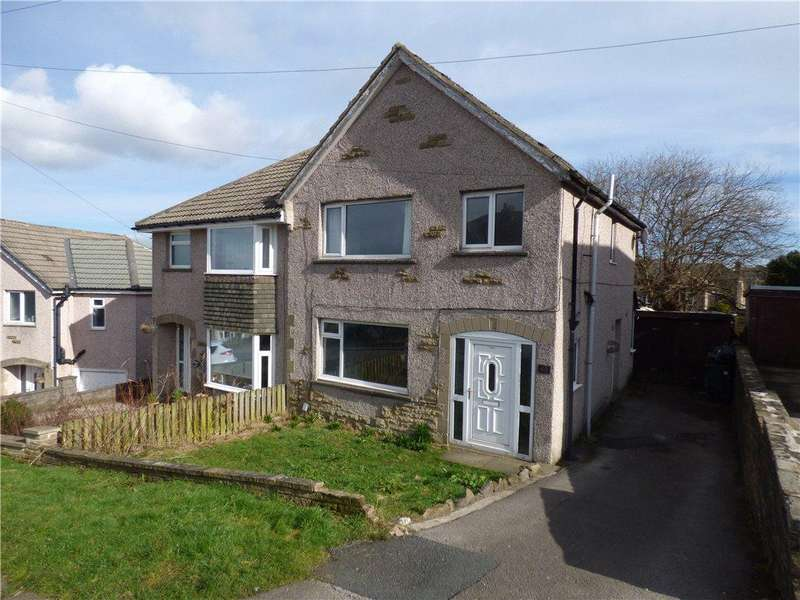 3 Bedrooms Semi Detached House for sale in Spring Avenue, Long Lee, Keighley, West Yorkshire