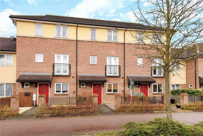 4 Bedrooms Terraced House for sale in Oakworth Avenue, Broughton, Milton Keynes
