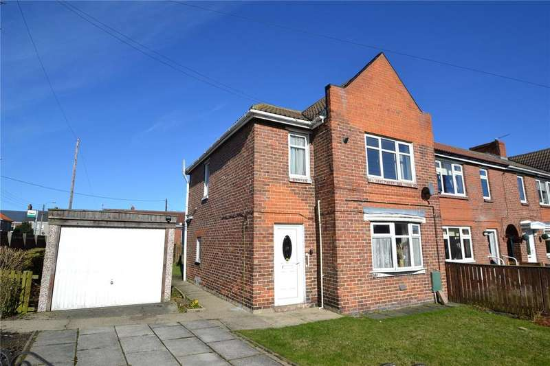 3 Bedrooms Semi Detached House for sale in Byron Terrace, Shotton Colliery, Co.Durham, DH6