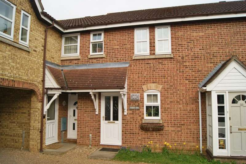 2 Bedrooms Terraced House for sale in Manor Ash Drive, Bury St Edmunds IP32
