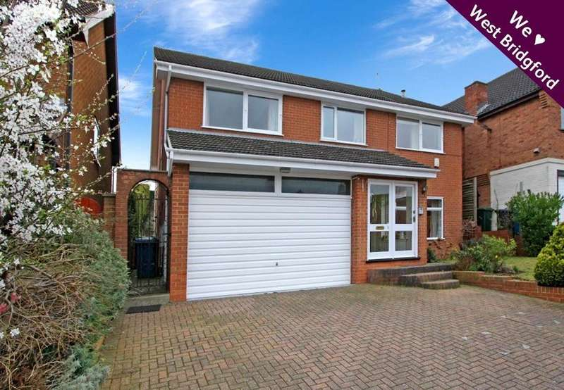 5 Bedrooms Detached House for sale in Bracey Rise, West Bridgford, Nottingham, NG2