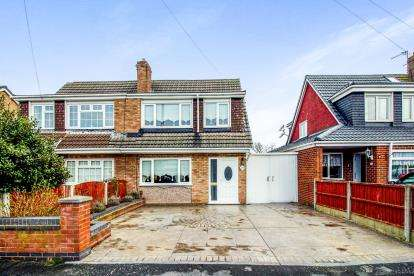 3 Bedrooms Semi Detached House for sale in Normington Close, Lydiate, Liverpool, Merseyside, L31