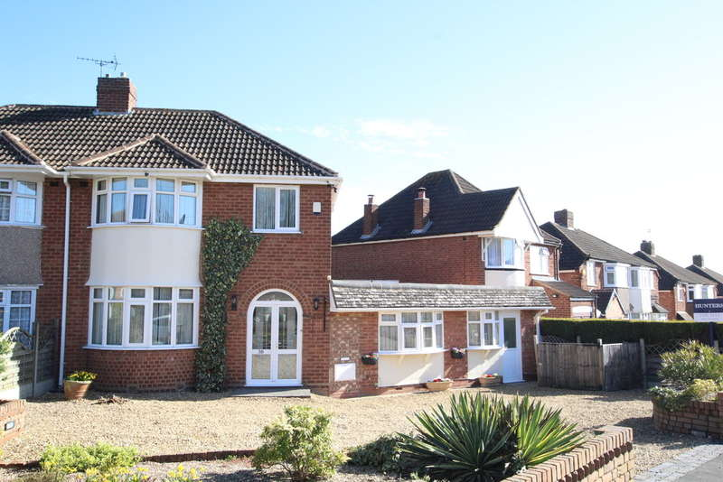 3 Bedrooms Semi Detached House for sale in Springfield Crescent, Walmley, B76 2SS