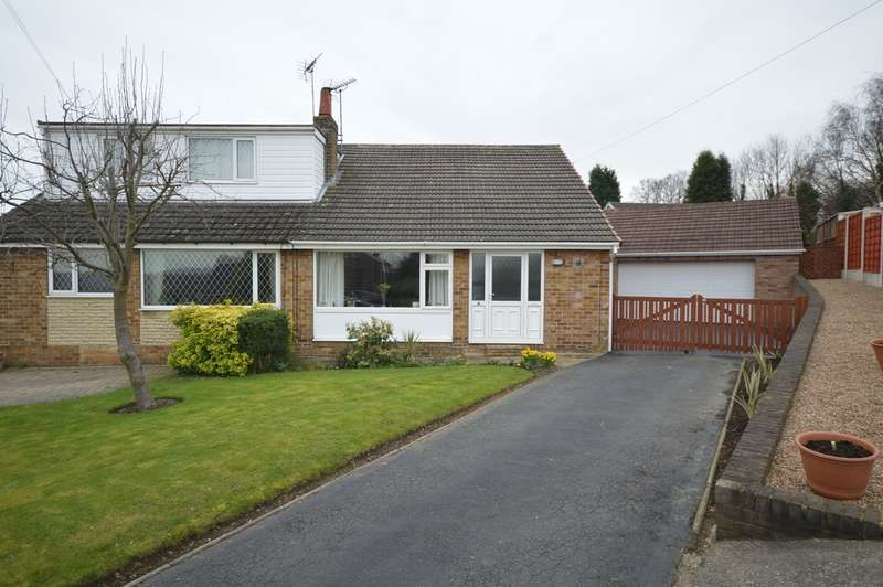 3 Bedrooms Semi Detached Bungalow for sale in Cherry Tree Crescent, Walton