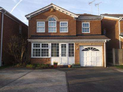 4 Bedrooms Detached House for sale in Summerfield Road, Kirkby-In-Ashfield, Nottingham