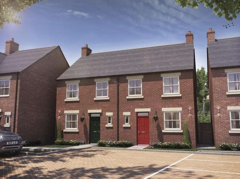 3 Bedrooms Semi Detached House for sale in Park View Development, Oversetts Road, Newhall