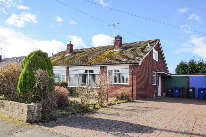 3 Bedrooms Semi Detached Bungalow for sale in Westmead Road, Barton Under Needwood