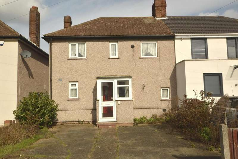 3 Bedrooms Semi Detached House for sale in Meadow Road, Rush Green, Romford, RM7
