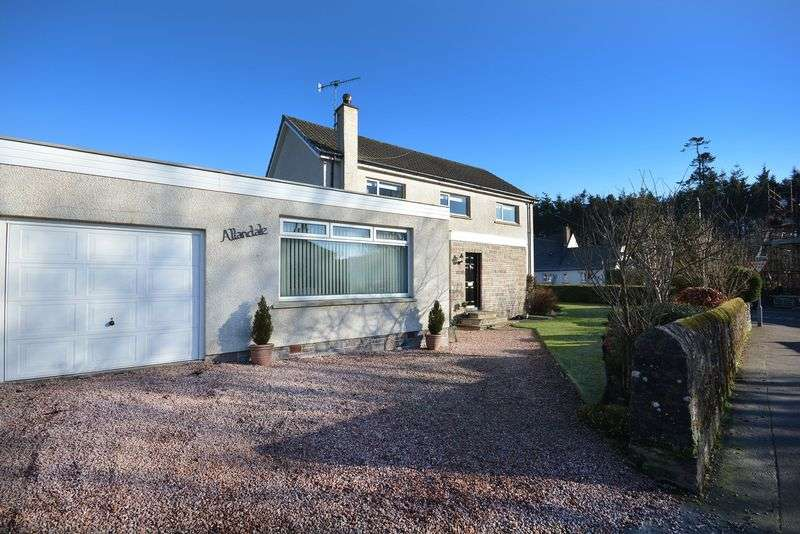4 Bedrooms Detached House for sale in Feddal Road, Braco. Dunblane