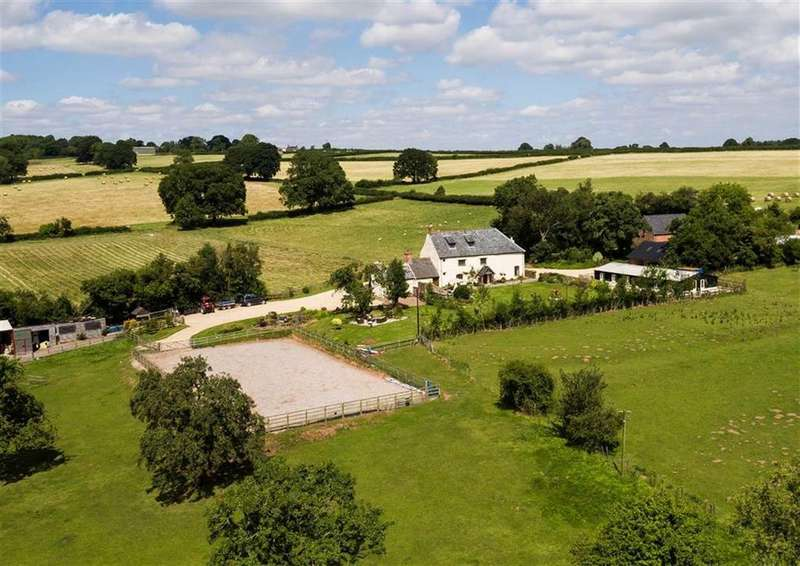 4 Bedrooms Detached House for sale in Broadoak, Broad Oak Hereford, Herefordshire