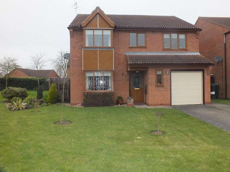 4 Bedrooms Detached House for sale in Salters Way, Donnington