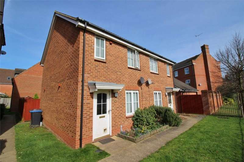 2 Bedrooms Semi Detached House for sale in Nimrod Drive, Hatfield, Hertfordshire