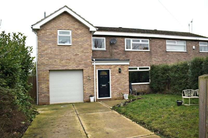 4 Bedrooms Semi Detached House for sale in Meadow Drive, Barton-Upon-Humber