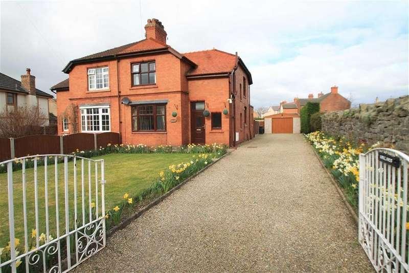 3 Bedrooms Semi Detached House for sale in Sarn Lane, Hope, Flintshire