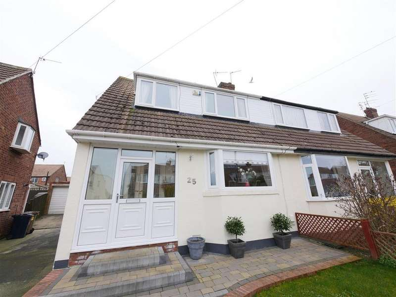 3 Bedrooms Semi Detached House for sale in Cedarwood Grove, Sunderland