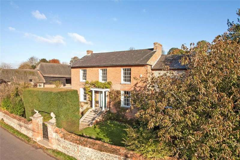 7 Bedrooms Country House Character Property for sale in Parsonage Farmhouse, Hurstbourne Tarrant, Andover, Hampshire