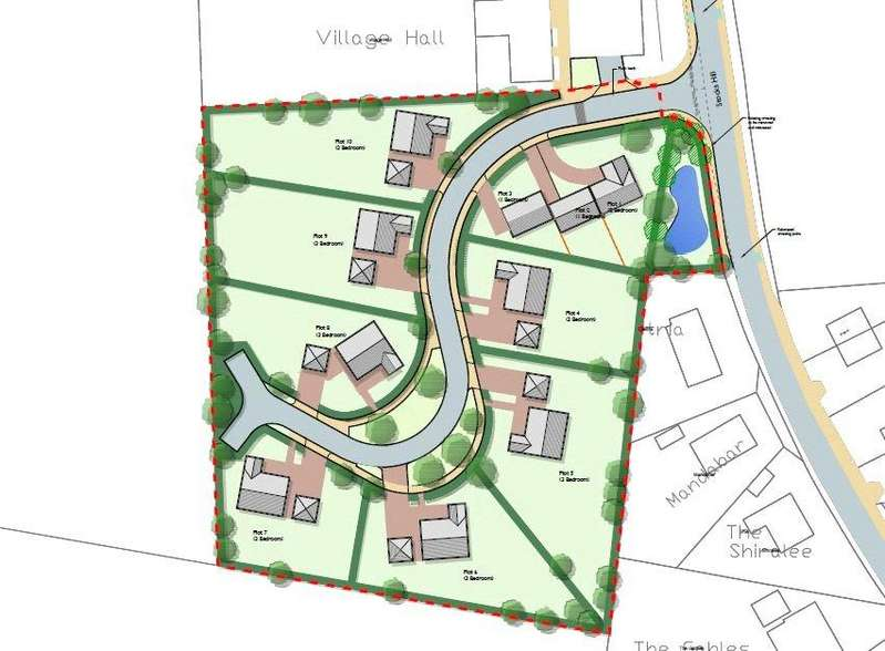 Land Commercial for sale in Land Off Stocks Hill, Bawburgh, Norwich