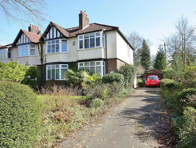 4 Bedrooms Semi Detached House for sale in Lacey Green, Wilmslow