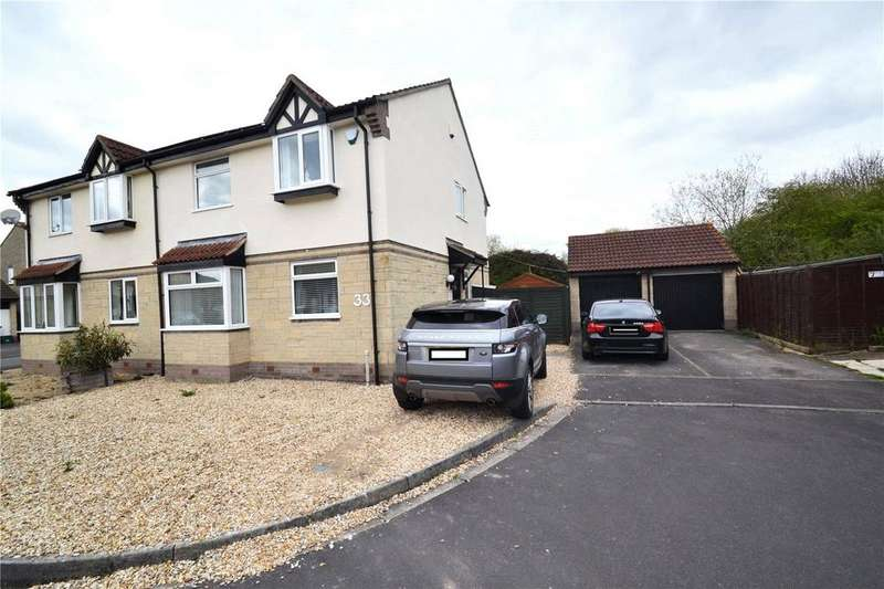 4 Bedrooms Semi Detached House for sale in Knightsbridge Way, Bridgwater, Somerset, TA6
