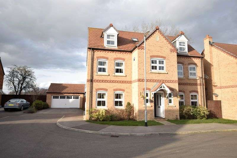 5 Bedrooms Detached House for sale in Buttercup Way, North Hykeham, Lincoln