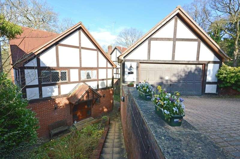 5 Bedrooms Detached House for sale in GRAYSHOTT - CLOSE TO GOLDEN VALLEY WOODLAND