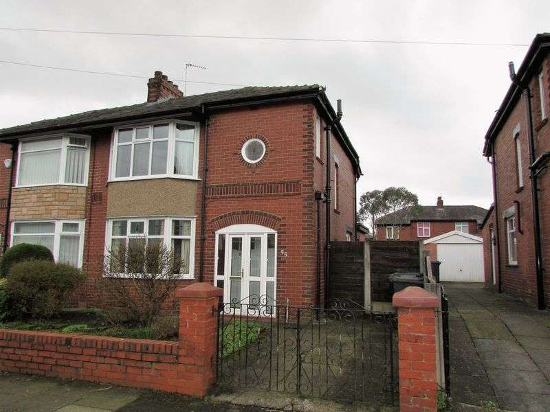 3 Bedrooms Semi Detached House for sale in Grange Road, Bury - Elton area